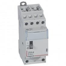 Модульный контактор Legrand CX³ 4P 25А 400/230В AC, 412561
