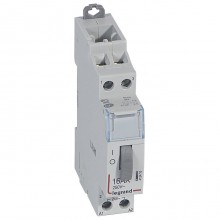 Импульсное реле - 2П - 16 А - 250 В~ - цепь управления 24 В - 2 Н.О. - 1 модуль