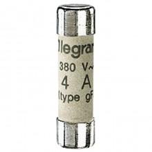 Промышленный цилиндрический предохранитель - тип gG - 8,5x31,5 мм - без индикатора - 4 A
