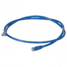 Коммутационный шнур RJ 45 - категория 6 - U/UTP - PVC - неэкранированный - 1 м - голубой