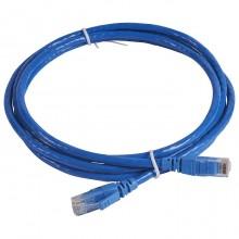 Коммутационный шнур RJ 45 - категория 6 - U/UTP - PVC - неэкранированный - 2 м - голубой