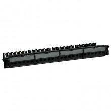 Патч-панель укомплектованная - 19 - 1U - категория 5е - FTP - 9 контактов - LCS²