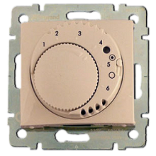 Термостат для теплого пола Legrand GALEA LIFE, с датчиком, слоновая кость, 775857