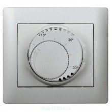 Термостат комнатный Legrand GALEA LIFE, алюминий, 775693