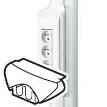 Набор из 2 торцевых заглушек, для сборных неукомплектованных коробок, артикул:030714