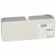 Монтажная коробка для выдвижного розеточного блока - 8 модулей - металл, Артикул:054003